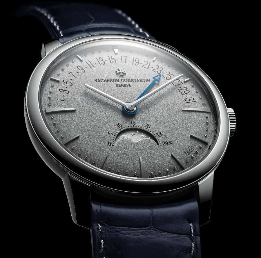 Vacheron Constantin Patrimony Moon Phase Retrograde Date - Collection Excellence Platine Watch Review