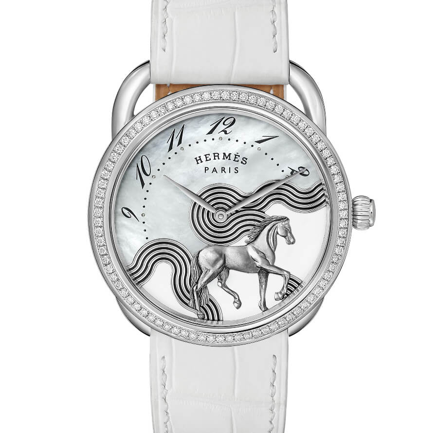 The New Hermes Arceau Cheval Cosmique 38 mm