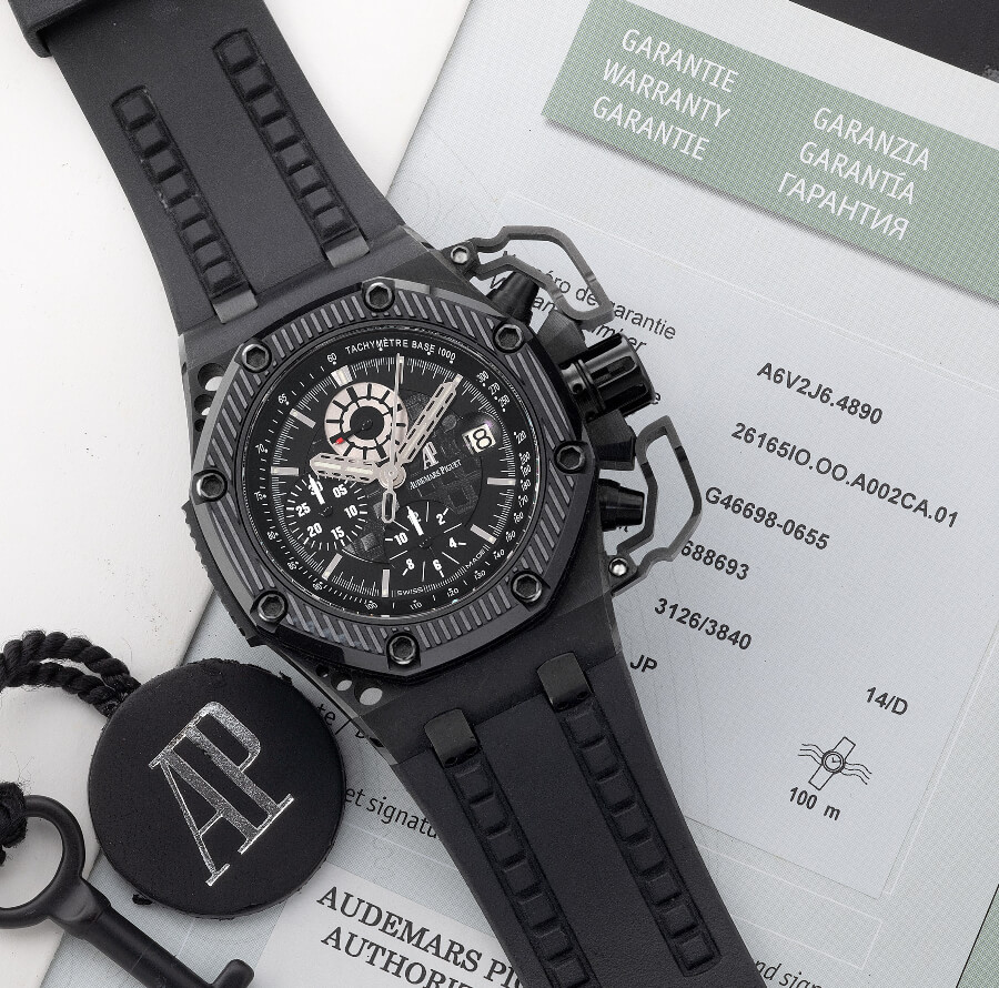 Audemars Piguet, Royal Oak Offshore Survivor For Sale Full Box