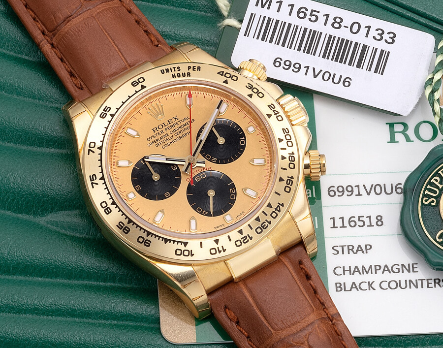 Rolex Daytona Ref 116518 Watch Review