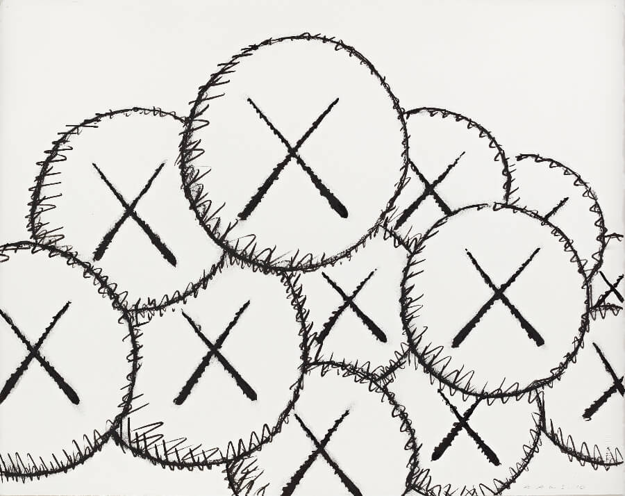 KAWS - Untitled (Cloud), 2010