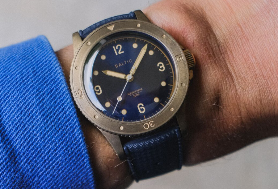 Baltic Aquascaphe Bronze Watch Review