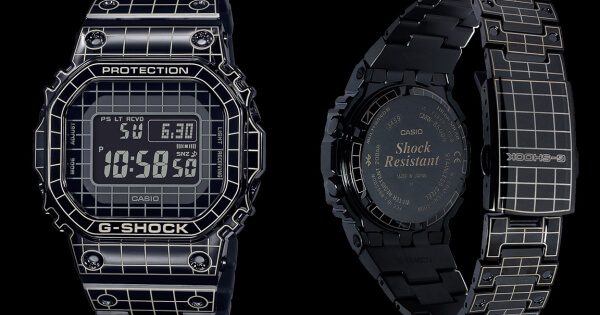 The New Casio G-Shock Full Metal GMWB5000 With Premium Laser-Cut Grid Design (Price, Pictures and Specifications)