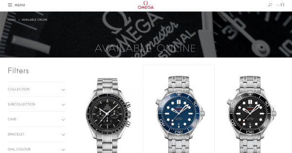 Omega Launches Online Shopping In Europe