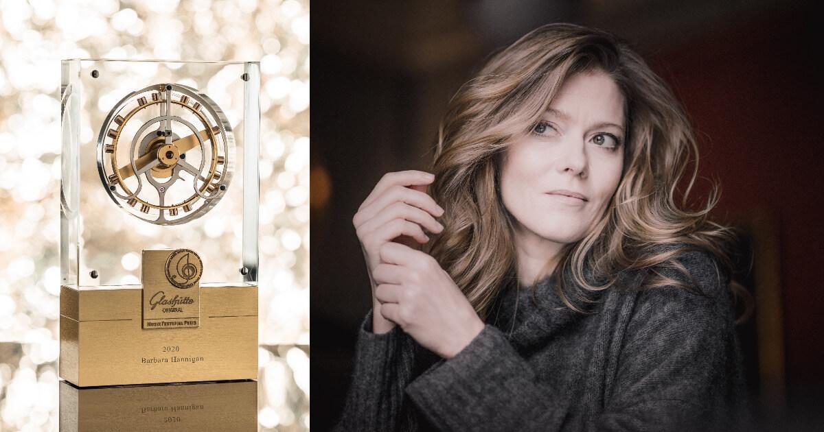 Barbara Hannigan awarded 17th Glashütte Original MusicFestivalAward