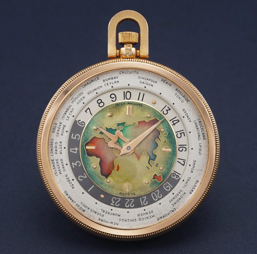 Patek Philippe Reference 605 HU from 1950 in pink gold