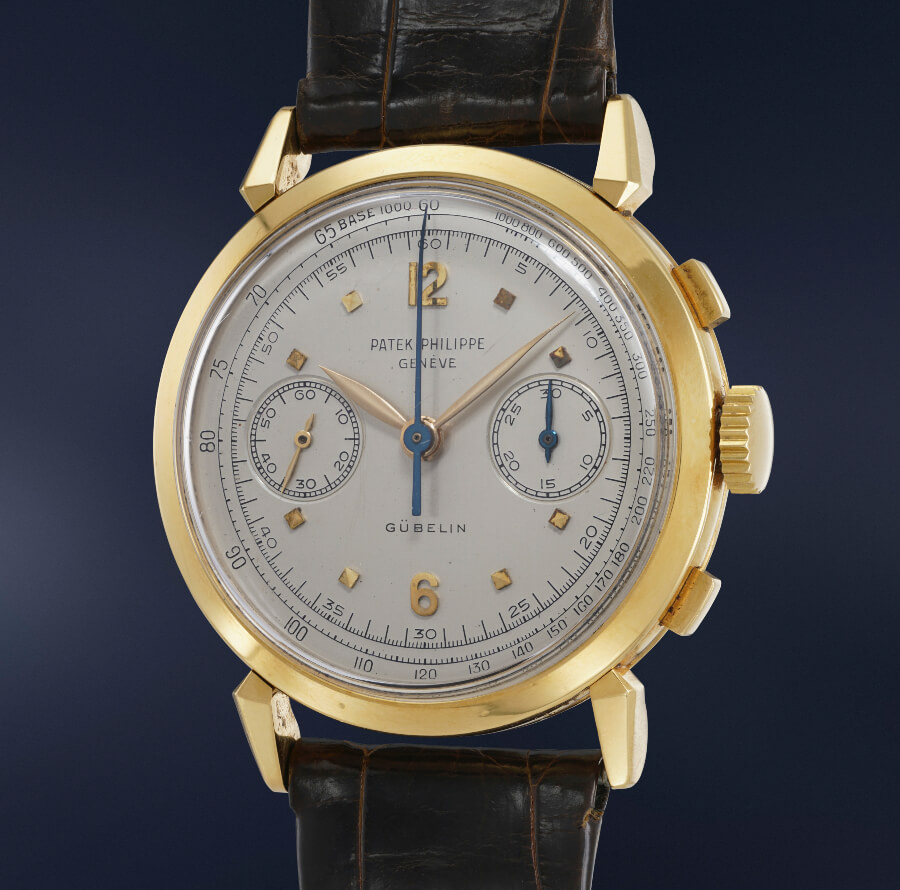 Patek Philippe Reference 1579 in yellow gold