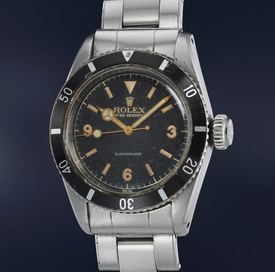 Rolex Submariner Reference 6200 Big Crown