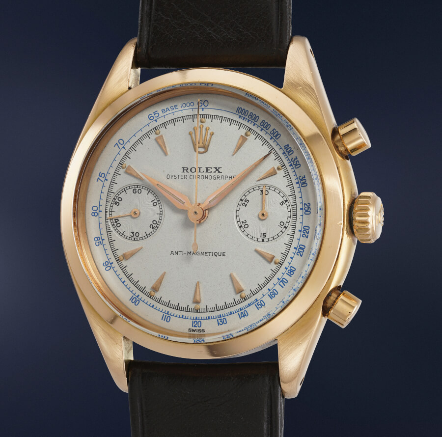 Rolex Reference 6232 in pink gold