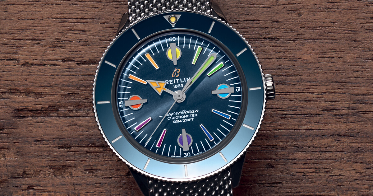 Breitling Superocean Heritage '57 Limited Edition II (Price, Pictures and Specifications)