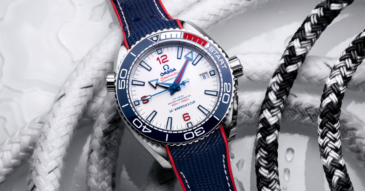 Omega Seamaster Planet Ocean America's Cup Edition (Price, Pictures and Specifications)