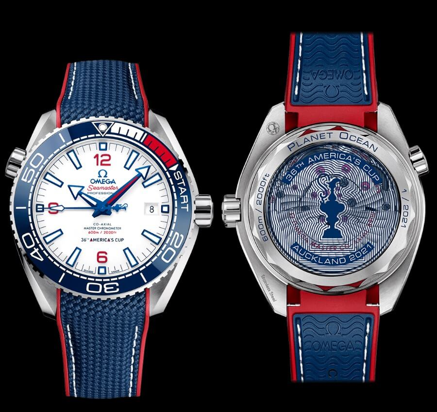 Omega Seamaster Planet Ocean America's Cup Edition