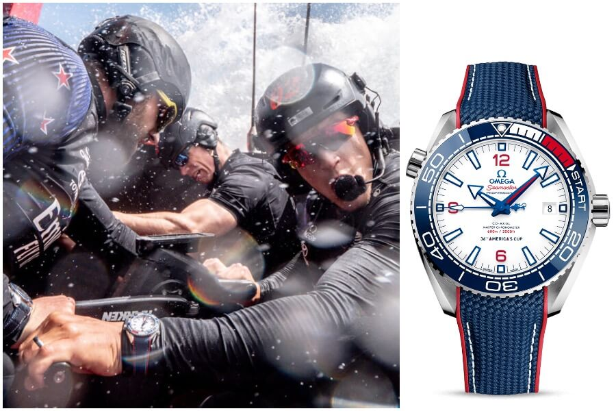 Omega Seamaster Planet Ocean America's Cup Edition Watch review
