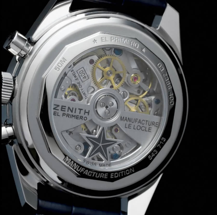 Zenith Chronomaster Revival Manufacture Edition Watch Movement