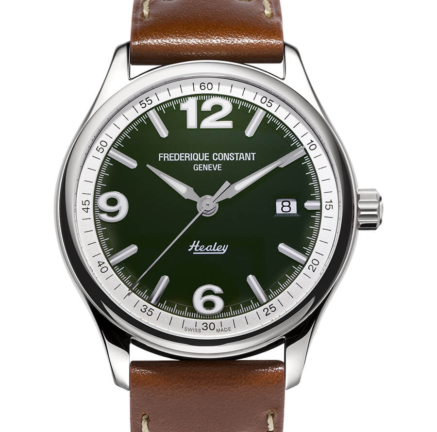 Frederique Constant Vintage Rally Healey Automatic Green Dial