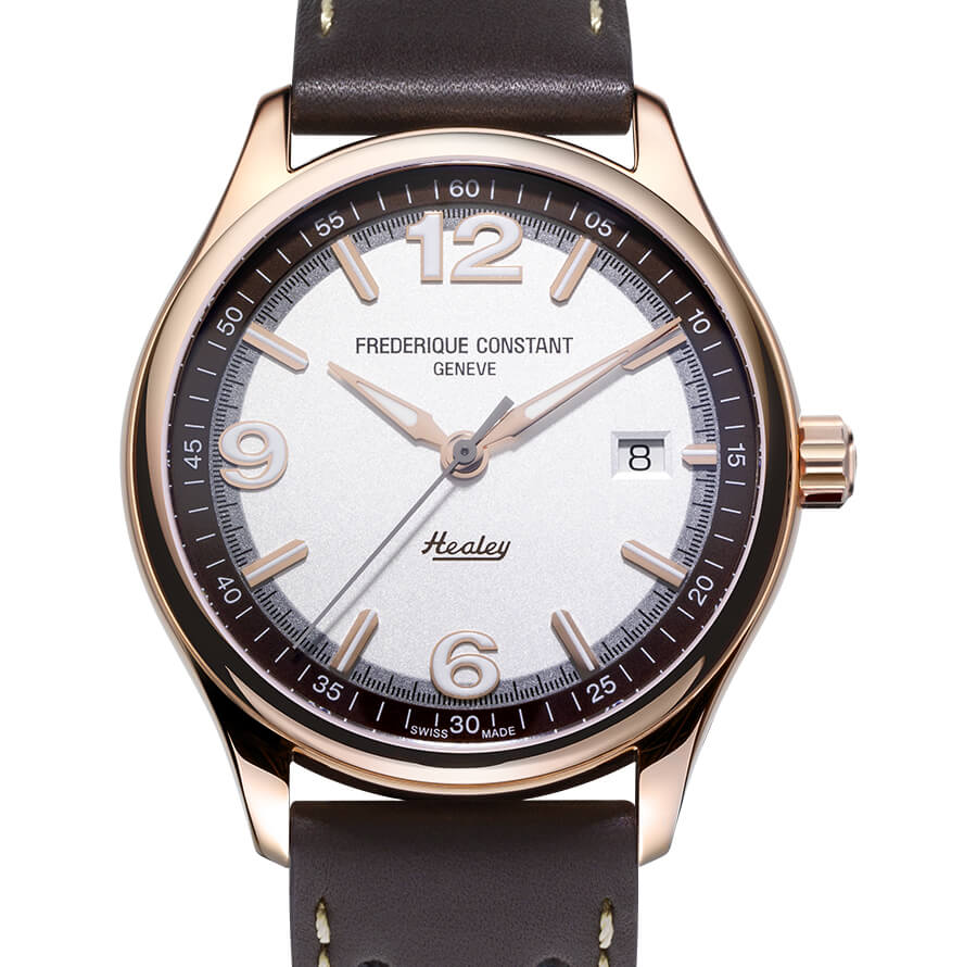 Frederique Constant Vintage Rally Healey Automatic Rose Gold