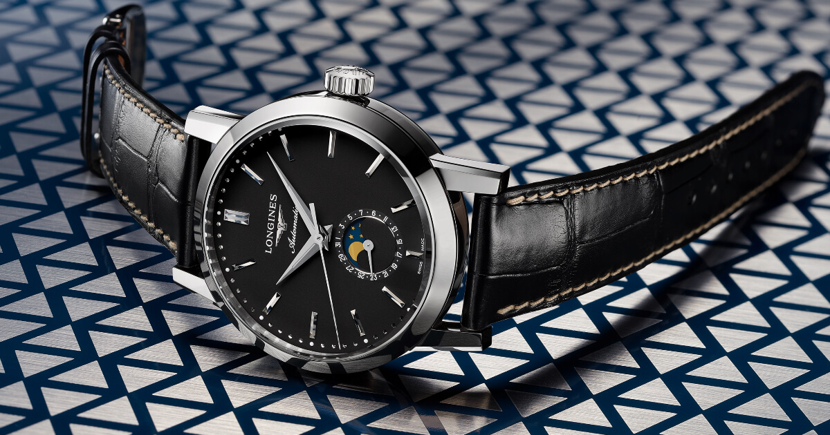 The Longines 1832 Black Dial (Price, Pictures and Specifications)