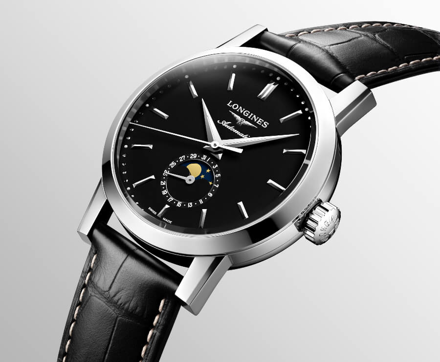 The New Longines 1832 Black Dial Moon Phase