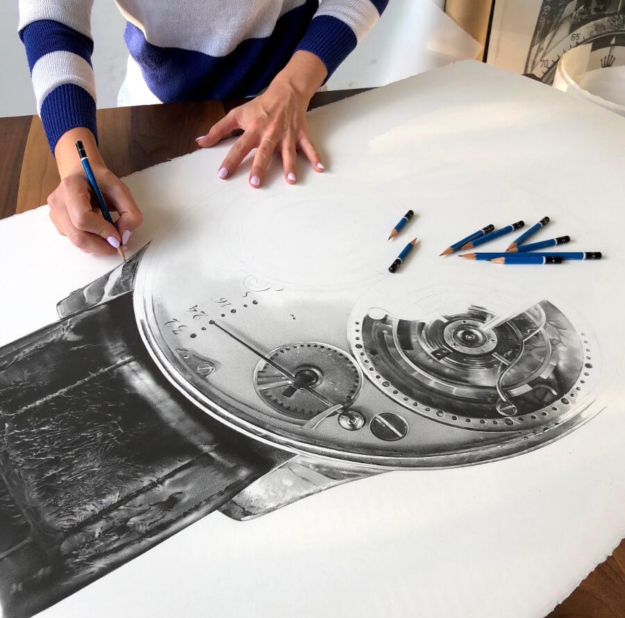 F.P. Journe Julie Kraulis Drawing