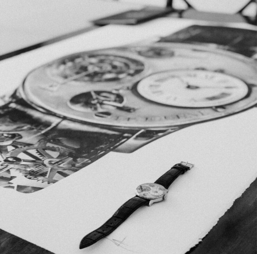 F.P. Journe's First Wristwatch