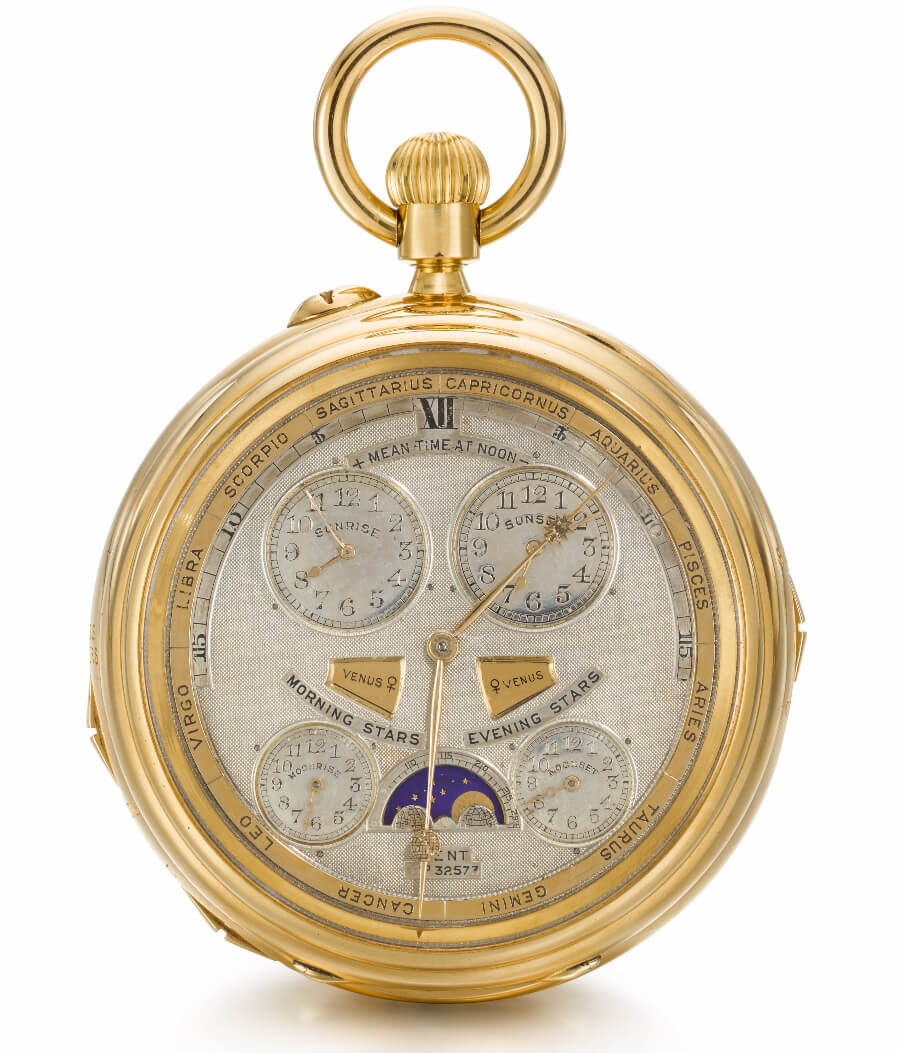 The Dent Ultra Complication, Made by Dent, London, circa 1904