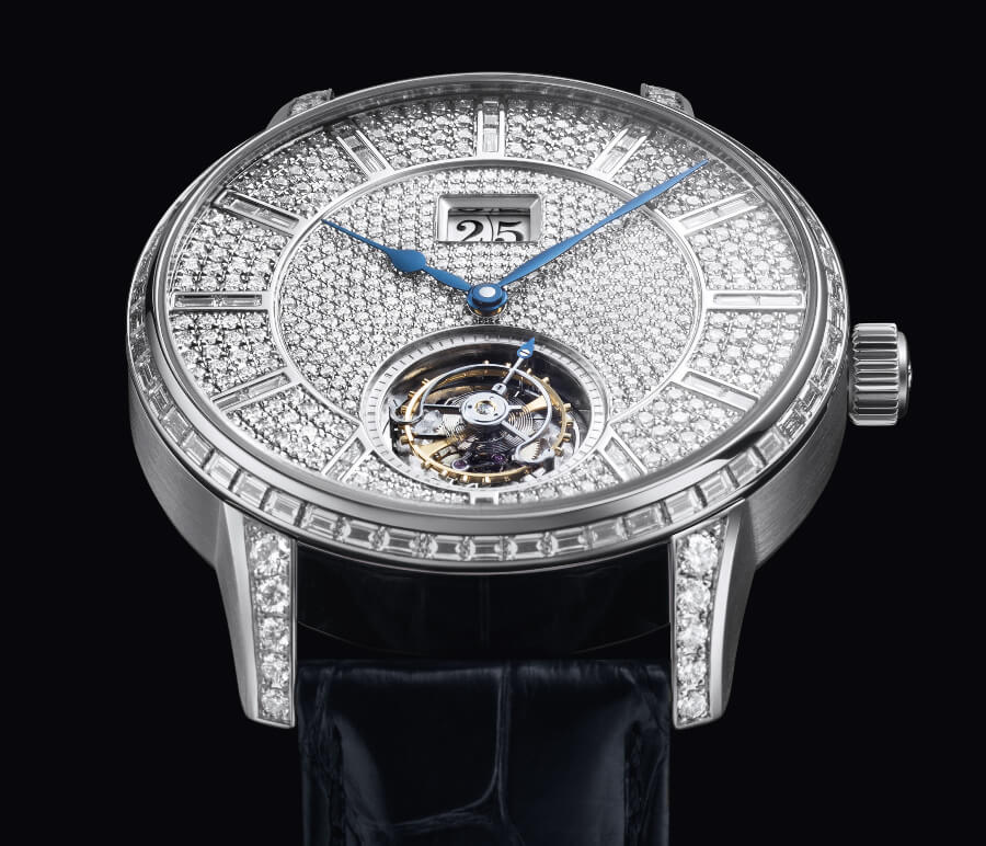 Glashütte Original Senator Tourbillon Diamonds