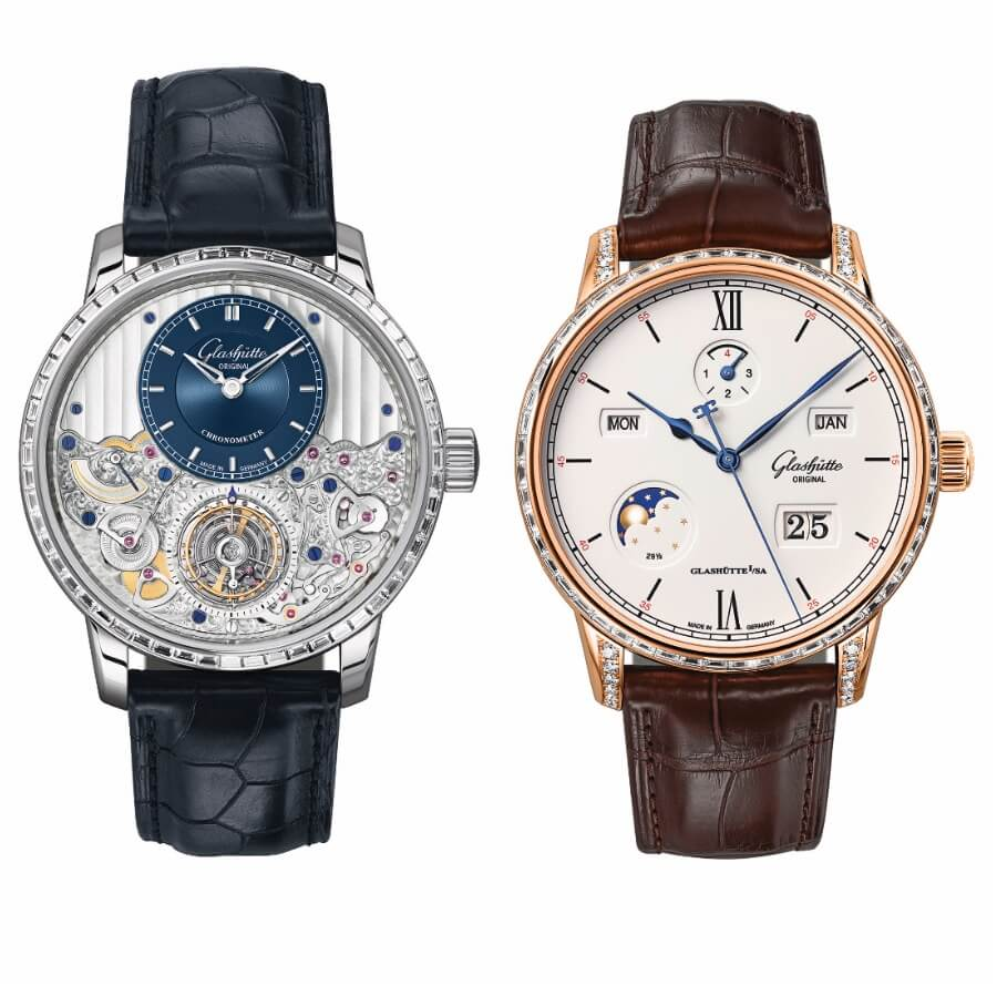 Glashütte Original Senator Chronometer Tourbillon and the Senator Excellence Perpetual Calendar