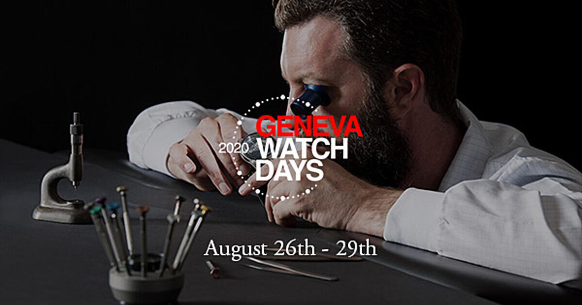 Geneva Watch Days: The Project Is Confirmed