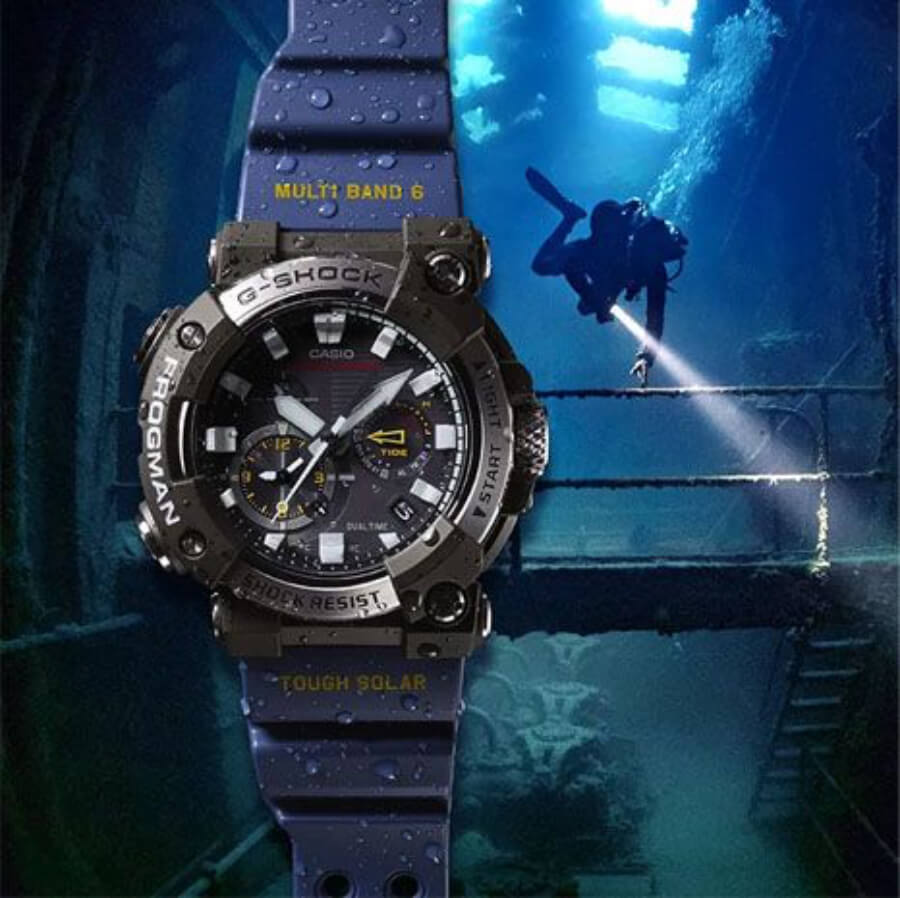 The New Casio G-Shock GWFA1000-1A2 Watch Review