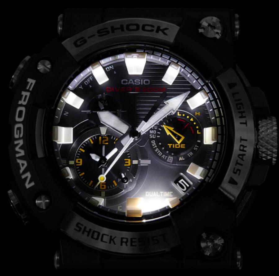 Casio G-Shock GWFA1000-1A Dial