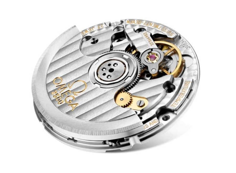 Omega Co-Axial Calibre 2500 In House Movement