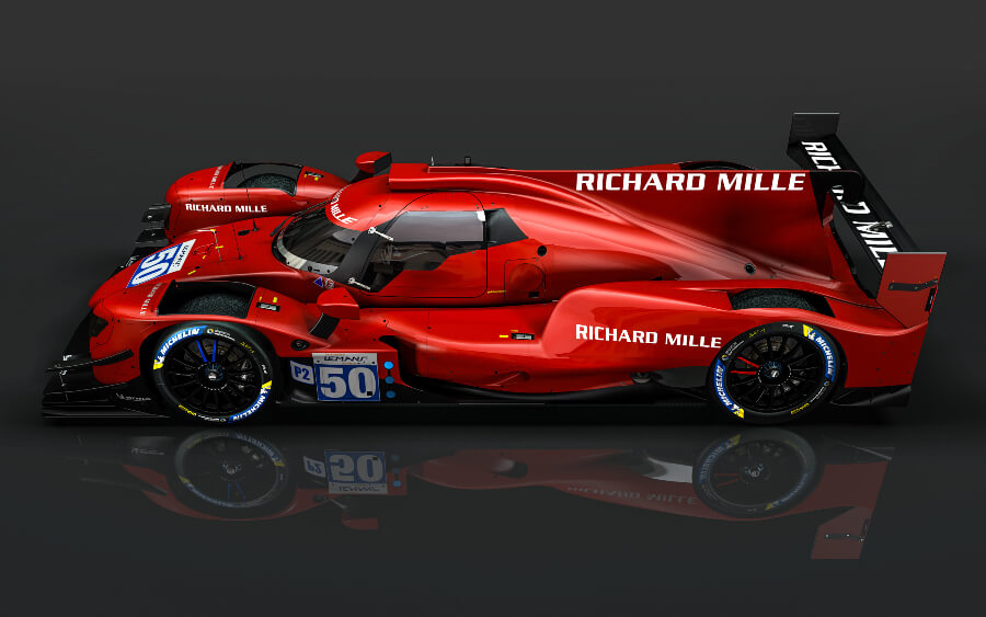 The Richard Mille Racing Team Is Revving Up For The Virtual 24 Hours Of Le Mans
