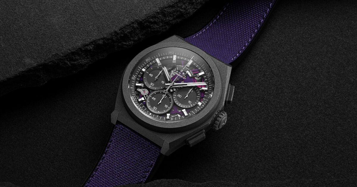 Zenith Defy 21 Ultraviolet (Price, Pictures and Specifications)