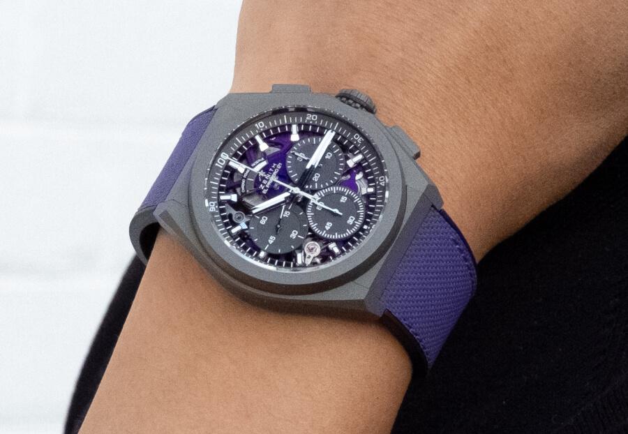 Zenith Defy 21 Ultraviolet Watch Review