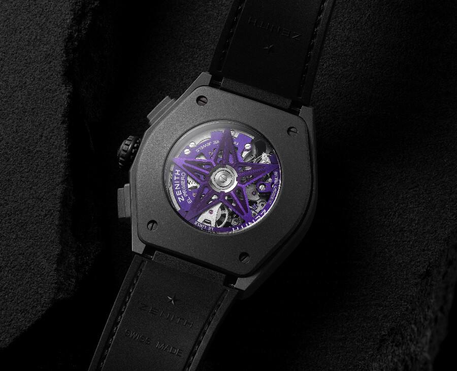 Zenith Defy 21 Ultraviolet El Primero Movement