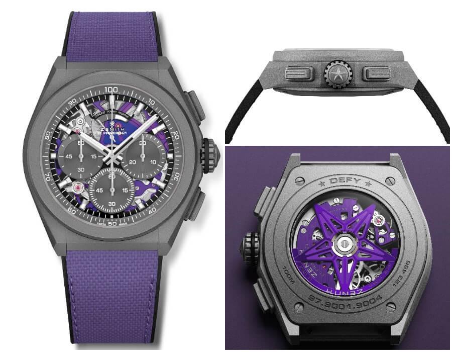 The New Zenith Defy 21 Ultraviolet