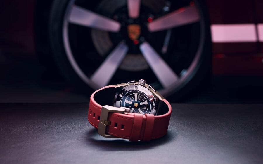 Porsche Design Chronograph 911 Targa 4S Heritage Design Edition Case Back