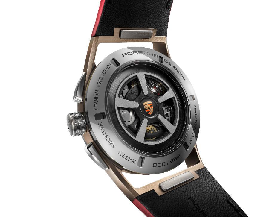 Porsche Design Chronograph 911 Targa 4S Heritage Design Edition In House Movement