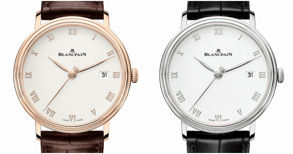 The New Blancpain Villeret Ultraplate 38 mm (Pictures and Specifications)