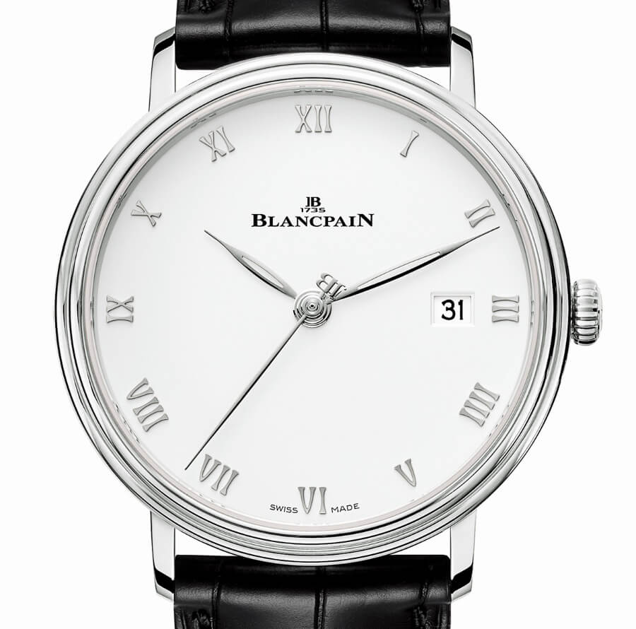 The New Blancpain Villeret Ultraplate 38 mm