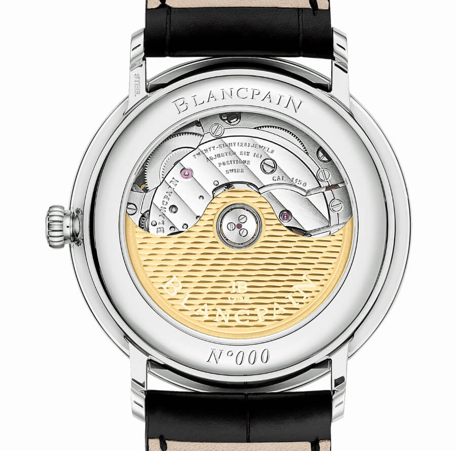 Blancpain Villeret Ultraplate 38 mm Caliber 1150 In house movement