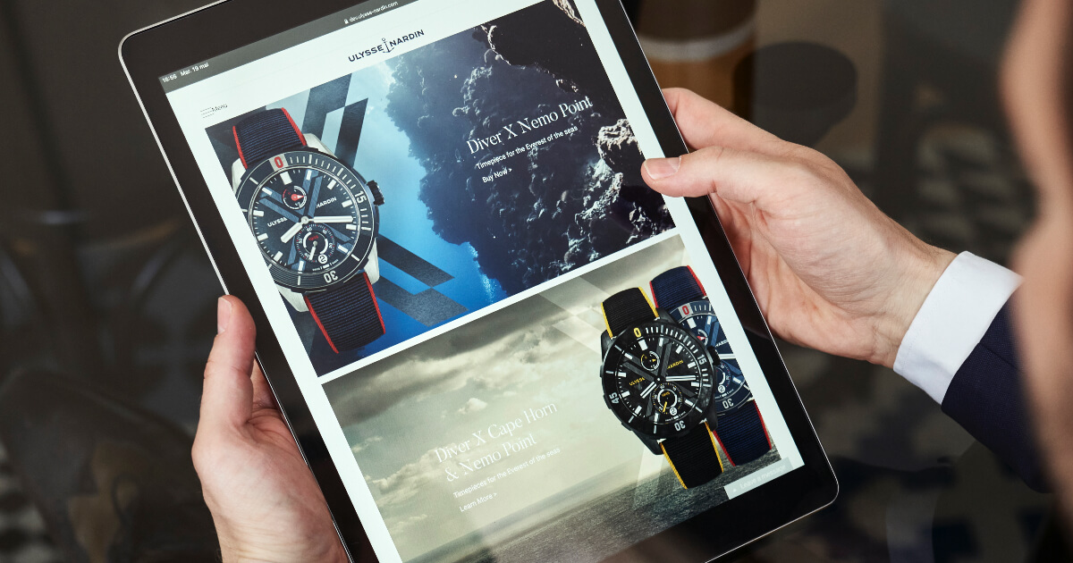 Ulysse Nardin E-Commerce Launch