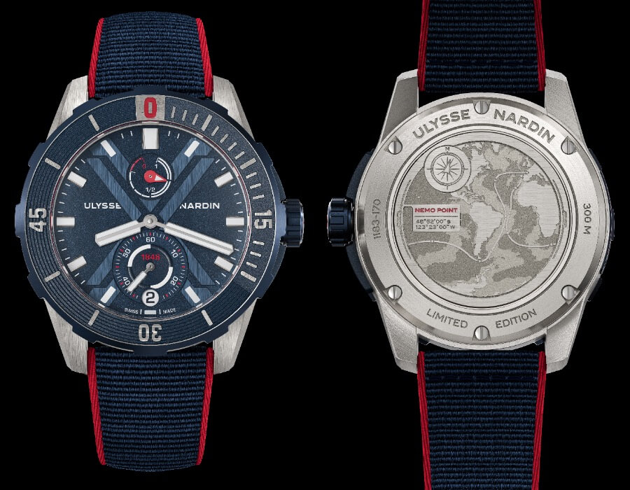 Ulysse Nardin Diver X Nemo Point 44MM