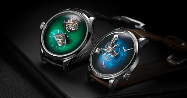 H. Moser × MB&F Endeavour Cylindrical Tourbillon and MB&F × H. Moser LM101 (Price, Pictures and Specifications)
