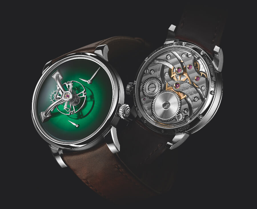 MB&F × H. Moser LM101 Watch review