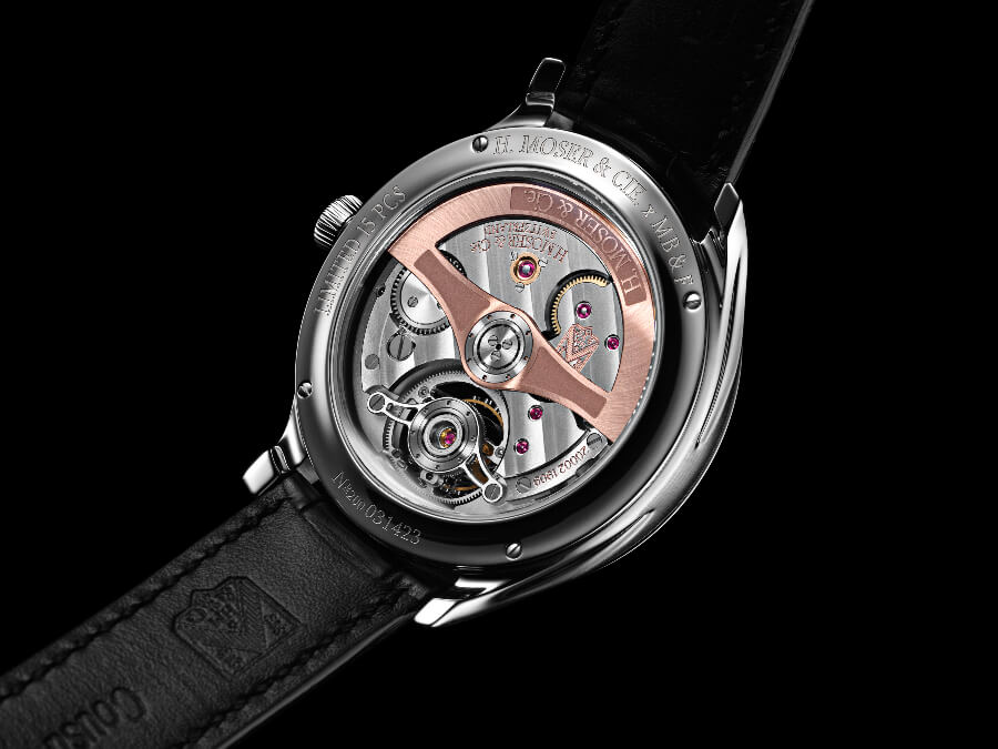 H. Moser × MB&F Endeavour Cylindrical Tourbillon Movement
