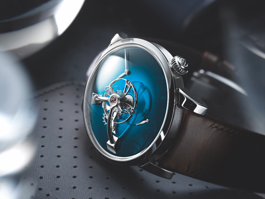 The new MB&F × H. Moser LM101