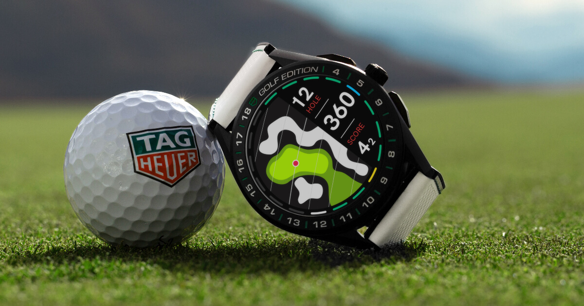 The New TAG Heuer Connected Watch Golf Edition (Price, Pictures and Specifications)