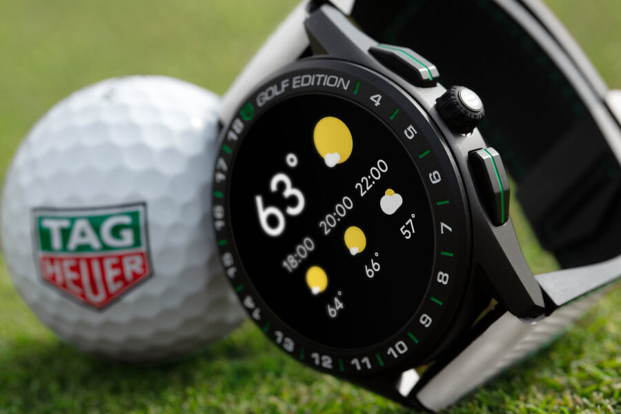The New TAG Heuer Connected Watch Golf Edition