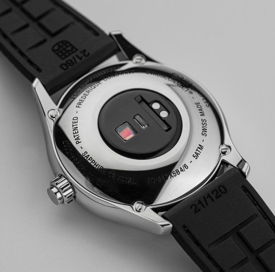 Frederique Constant Smartwatch Vitality Caseback